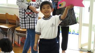 幼稚園 授業参観