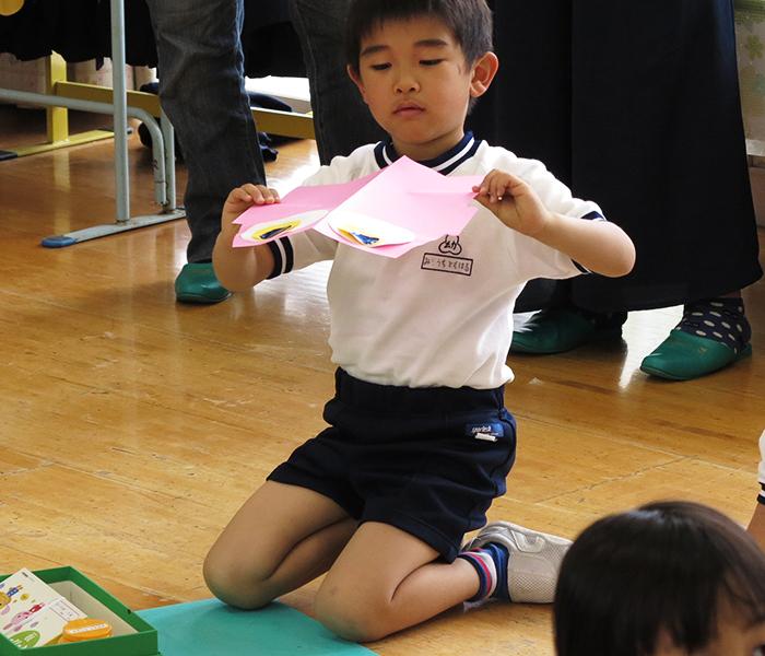 幼稚園 鯉のぼり製作