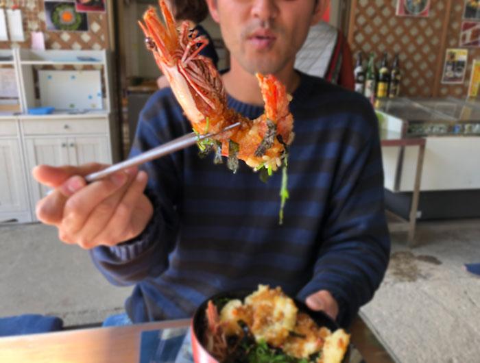 新島水産 海鮮天丼