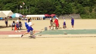 淡路中学校陸上競技選手権800m