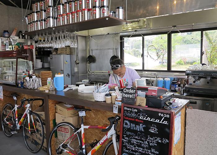 淡路島カフェ チルコロのオーナー