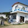 ビーチハウス POPIで、海を眺めながらの、のんびりランチ。五色浜が目の前に広がる贅