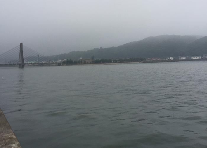 洲本港から洲本川