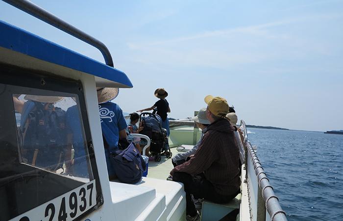 淡路島 成ヶ島への渡船