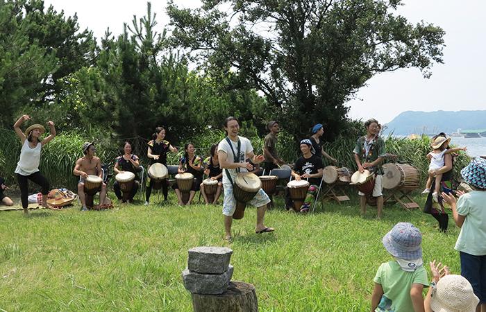 淡路島 成ヶ島 ハマボウ祭り アワジカン