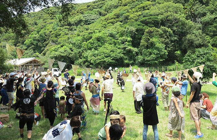 淡路島 成ヶ島 ハマボウ祭り ワイワイ