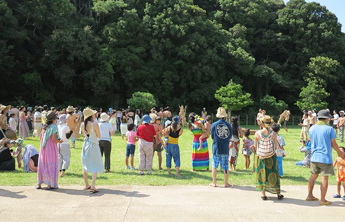 淡路島 成ヶ島 ハマボウ祭り ガヤガヤ