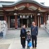厳島神社(淡路島弁財天)で、息子の七五三を滞りなく終えました