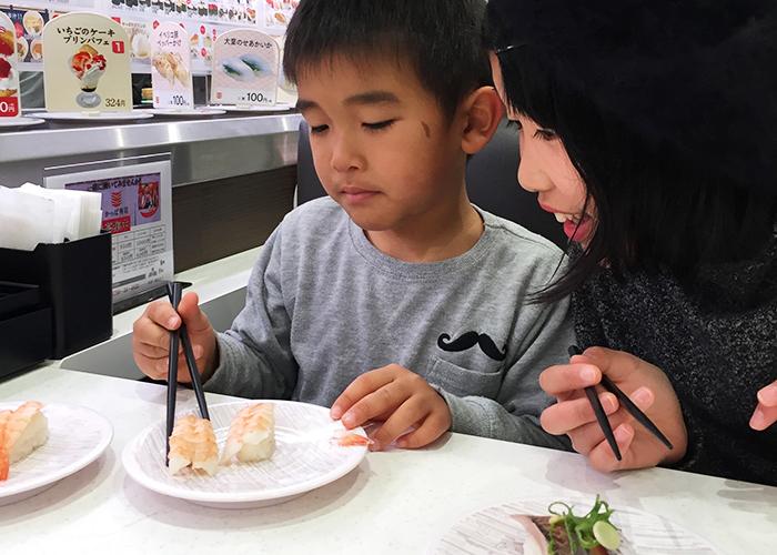 家族でかっぱ寿司
