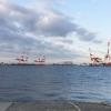 神戸沖堤防