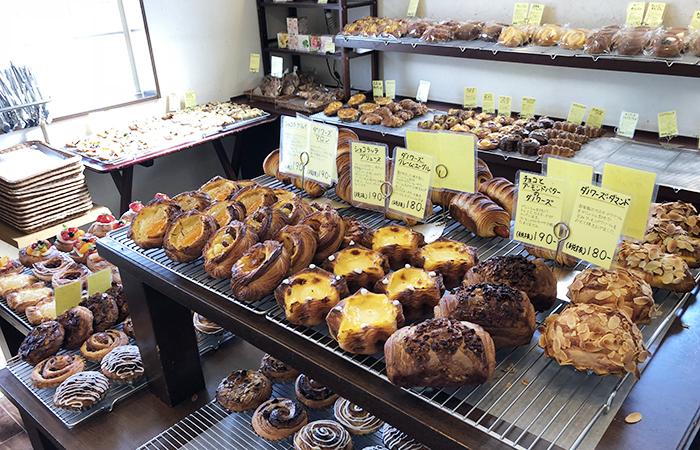 平野パンの店内の様子