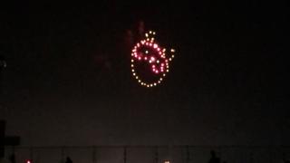 淡路島まつり・狸の花火
