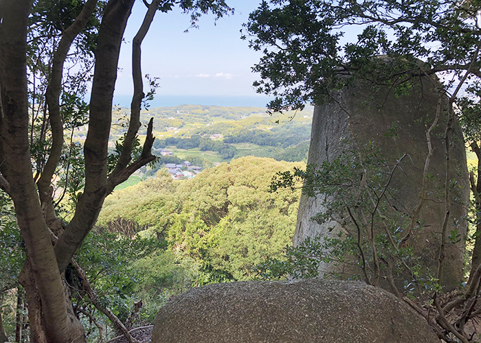 神籠石からの眺め