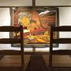 100号の画「ふたり」は、ゆっくり座って観てください。増田さんの画はジワジワきます
