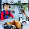 予約の食パンがズラリ👀淡路市の大人気パン屋さん「フルール(Fleur)」のガーデンテラ