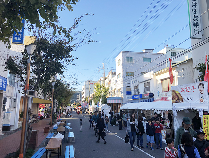 掘端筋商店街