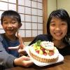 ケーキと子供たち