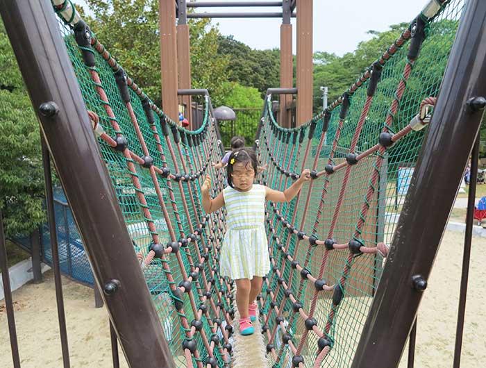 淡路島公園のアスレチック