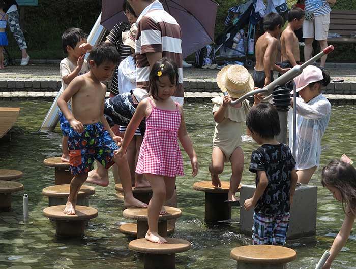 淡路島公園水上アスレチック