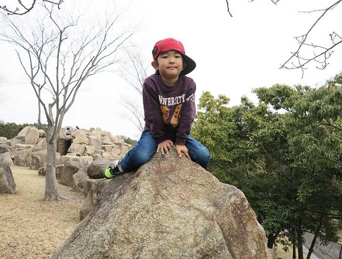 淡路島公園 岩のアスレチック