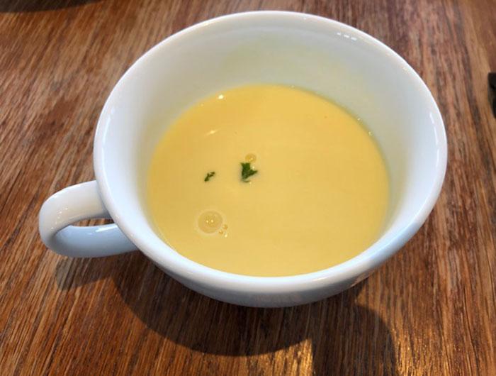 ダンメンのコーンスープ