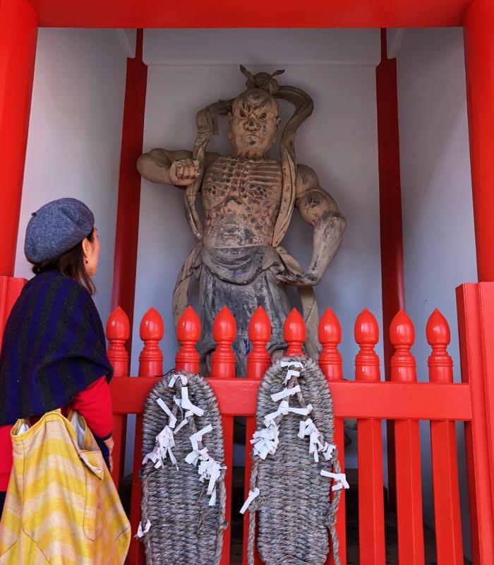 護国寺の仁王像