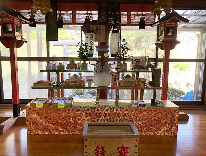 覚住寺の龍神様