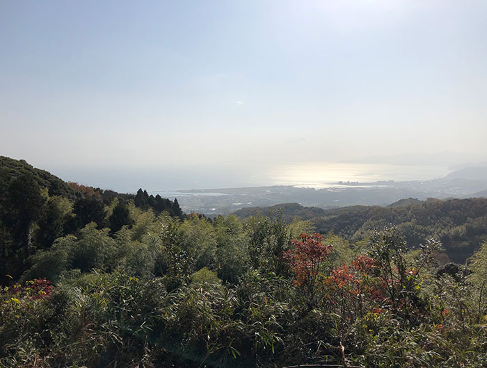 摩耶山展望所からの眺め