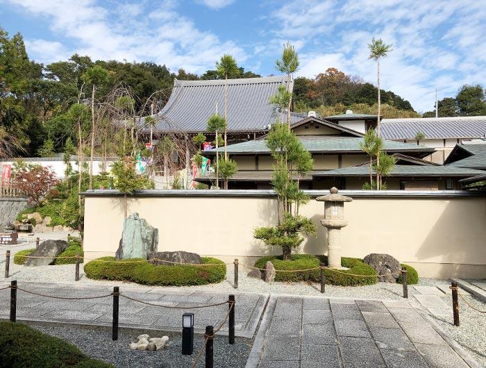 智禅寺の境内の様子