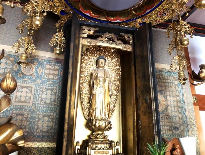 智禅寺の観音堂
