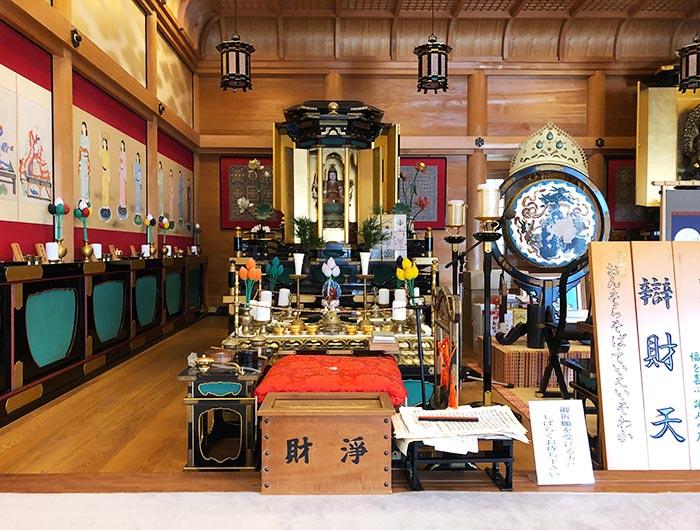 智禅寺の弁財天