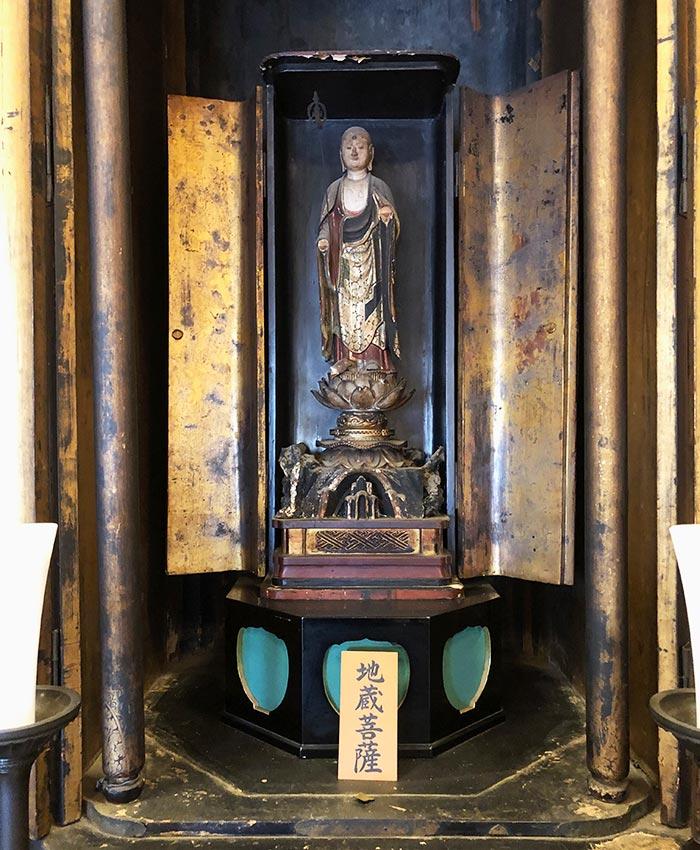 智禅寺の地蔵菩薩