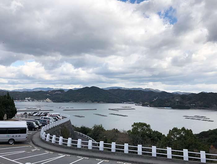 休暇村南淡路からの景色