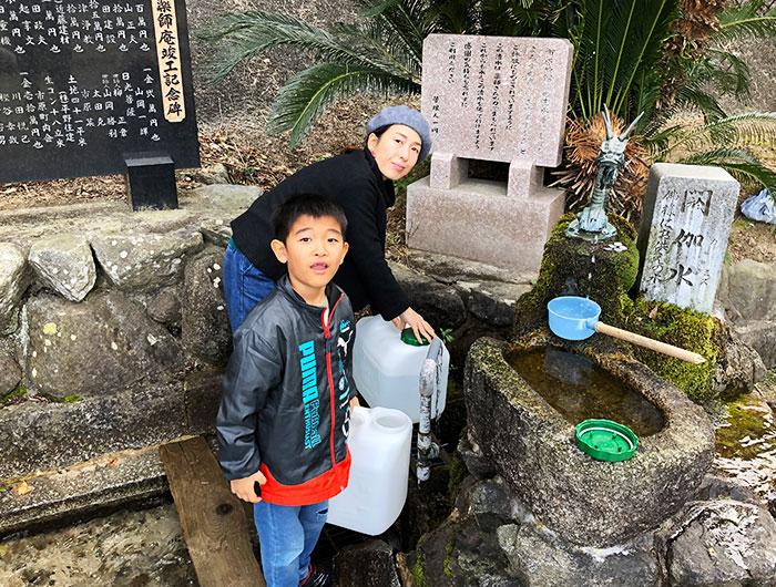 薬師庵の湧き水