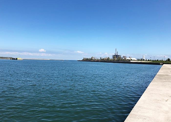 淡路島ダンメンから見える海