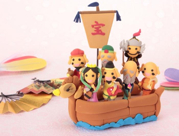 七福神の宝船