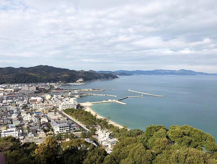 洲本八景の眺め