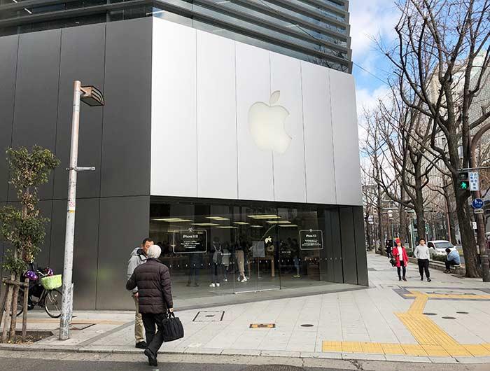 大阪心斎橋Apple