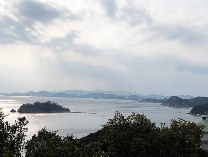 ホテル&リゾーツ 南淡路の展望台からの風景 淡路島