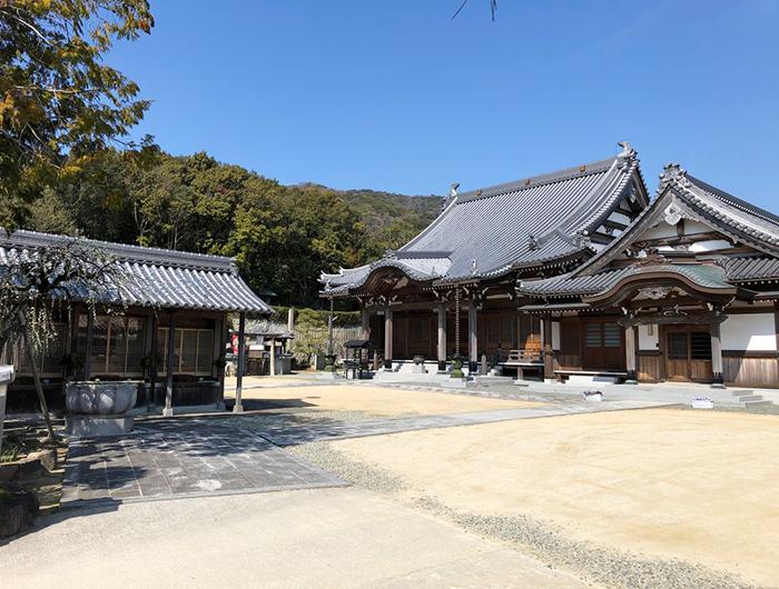淡路島 大宮寺の本堂