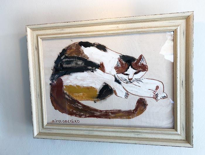 ミロコマチコの絵画 toneko