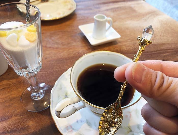 淡路島 いたりあ亭 コーヒーと食器