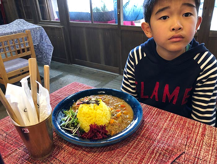mong curry(モンカレー)と息子