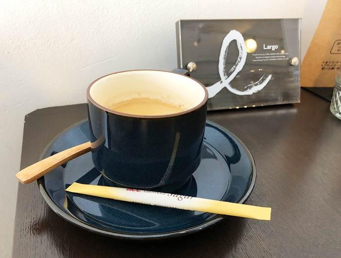 ルシャノワールのコーヒー