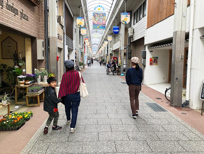 洲本コモード56商店街