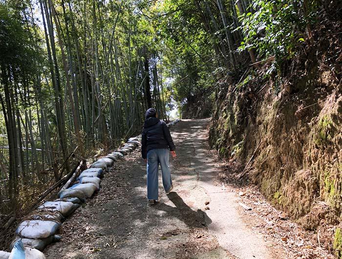 淡路島 御井の清水の水汲みルート