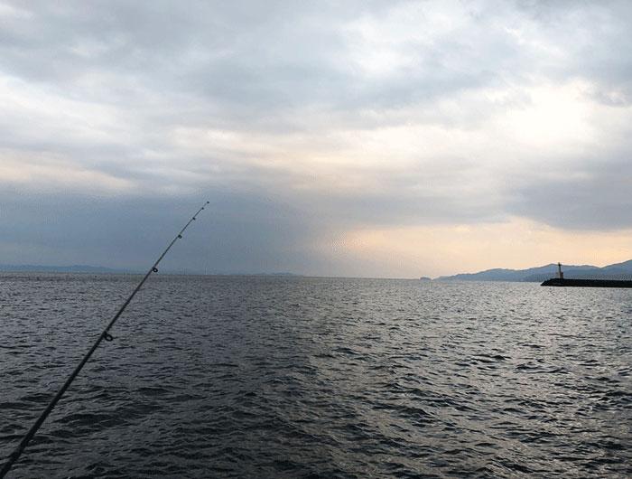 淡路島おのころ裏の海