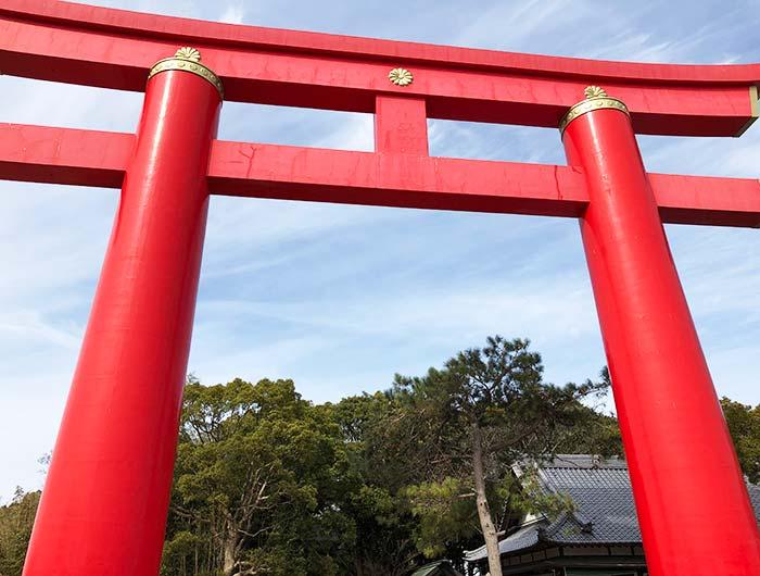 おのころ神社の大鳥居
