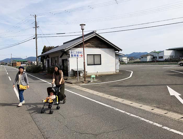 おのころ島神社の駐車場