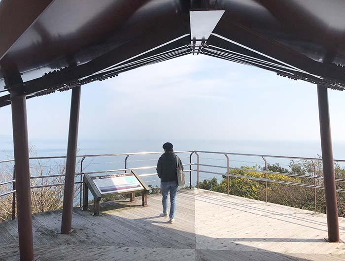 淡路島 生石海峡展望台